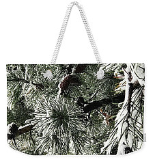 Winter Land  Weekender Tote Bag