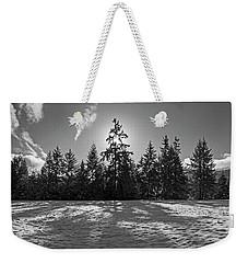 Winter Landscape - 365-317 Weekender Tote Bag by Inge Riis McDonald