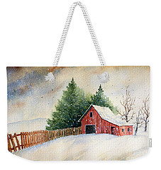 Winter Landscape IIi Weekender Tote Bag