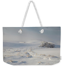 Winter Light On The Palouse Weekender Tote Bag
