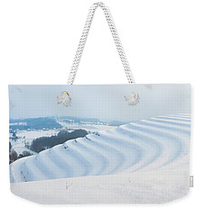 Winter Lines Weekender Tote Bag