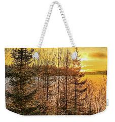 Winter Magic Weekender Tote Bag by Rose-Marie Karlsen