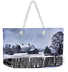 Weekender Tote Bag featuring the photograph Winter by Mark Fuller
