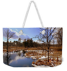 Winter Marsh Weekender Tote Bag