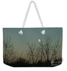 Winter Moon Weekender Tote Bag by Ana V Ramirez