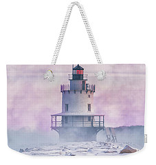 Winter Morning At Spring Point Ledge Weekender Tote Bag