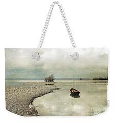 Winter Morning By The Lake Weekender Tote Bag