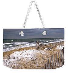Winter On Cape Cod Weekender Tote Bag