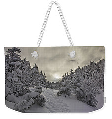 Winter On The Ammo Trail Weekender Tote Bag