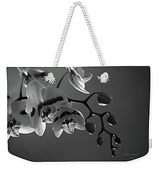 Winter Orchids Weekender Tote Bag
