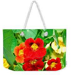 Winter Park Nasturtium 2 Weekender Tote Bag