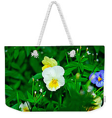 Winter Park Violets 1 Weekender Tote Bag