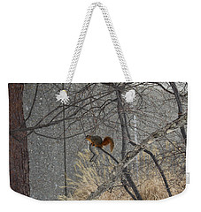 Winter Preparation  Weekender Tote Bag