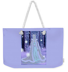 Winter Queen Weekender Tote Bag