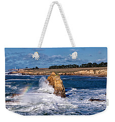 Winter Rainbows In The Surf Weekender Tote Bag