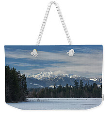 Weekender Tote Bag featuring the photograph Winter by Randy Hall