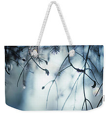 Weekender Tote Bag featuring the photograph Winter by Rebecca Cozart