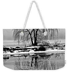 Winter Reflections Weekender Tote Bag