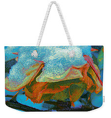 Winter Rose II Weekender Tote Bag by Anastasia Savage Ealy