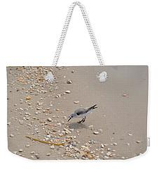 Winter Sanderling Weekender Tote Bag