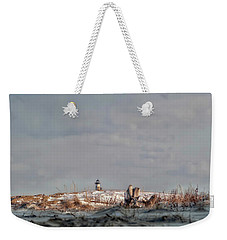 Weekender Tote Bag featuring the photograph Winter Scented Sand by Richard Bean