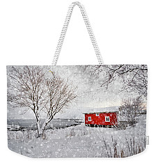 Winter Secret Weekender Tote Bag