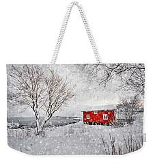 Winter Secret Weekender Tote Bag