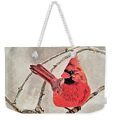 Winter Sentinal Weekender Tote Bag
