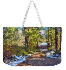 Winter Serenity Weekender Tote Bag