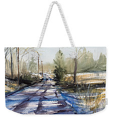 Winter Shadows  Weekender Tote Bag by Judith Levins