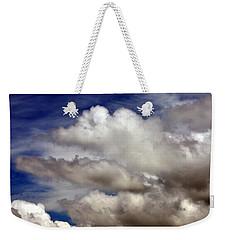 Winter Snow Clouds Weekender Tote Bag