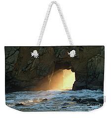 Winter Solstice Sunset In Big Sur Weekender Tote Bag