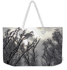 Winter Solstice Utah Weekender Tote Bag