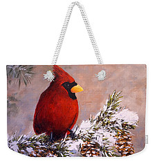 Winter Song Weekender Tote Bag