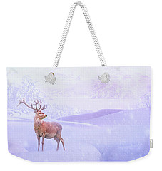 Winter Story Weekender Tote Bag