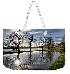 Winter Sun Weekender Tote Bag by Shirley Mitchell