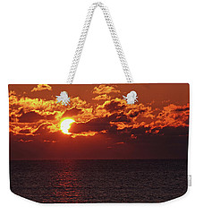 Weekender Tote Bag featuring the photograph Winter Sunrise by Greg Graham