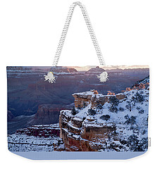 Winter Sunrise - Mather Point Grand Canyon Weekender Tote Bag