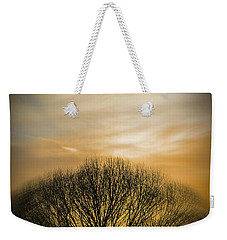 Winter Sunset Weekender Tote Bag by Charles Ables