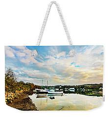 Winter Sunset Weekender Tote Bag by Terri Waters