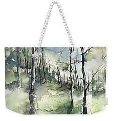 Winter To Spring Weekender Tote Bag