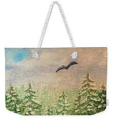 Winter To Spring Weekender Tote Bag
