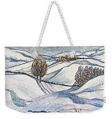 Winter Tranquility Weekender Tote Bag