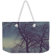 Weekender Tote Bag featuring the photograph Winter Tree by Shane Holsclaw