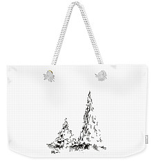 Winter Trees 2 - 2016 Weekender Tote Bag by Joseph A Langley