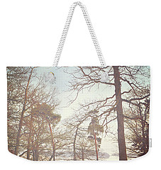 Weekender Tote Bag featuring the photograph Winter Trees by Lyn Randle