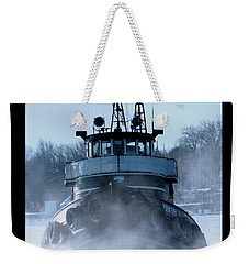 Winter Tug Weekender Tote Bag