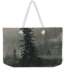 Winter Up North Weekender Tote Bag