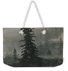 Winter Up North Weekender Tote Bag