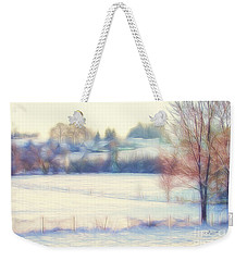 Winter Village Weekender Tote Bag by Jutta Maria Pusl